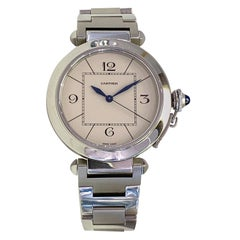 Cartier Pasha Automatic Stainless Steel Pasha Acier As New