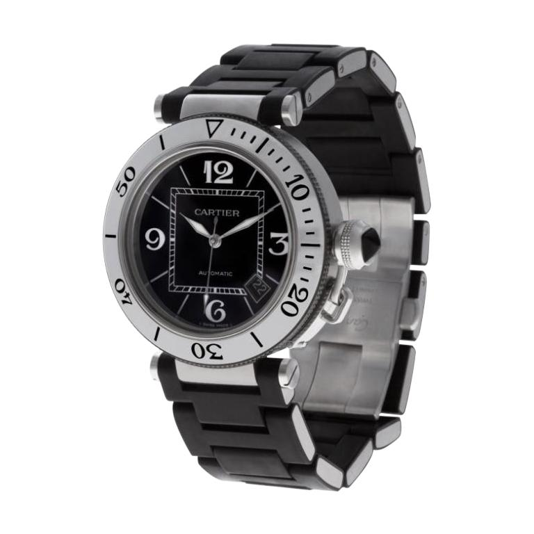 Cartier Pasha Automatic Stainless Steel Watch 2790