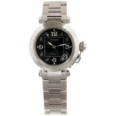 Cartier Pasha C Automatic Steel Mid Size Wristwatch