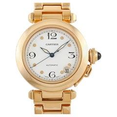 Cartier Pasha de Cartier 18K Yellow Gold Automatic Watch
