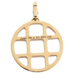 Cartier Pasha de Cartier 18K Yellow Gold Circular Pendant