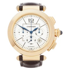 Cartier Pasha de Cartier Chronograph 18 Karat Yellow Gold 2863