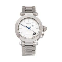 Cartier Pasha De Cartier Stainless Steel W31010M7 or 2324 Wristwatch