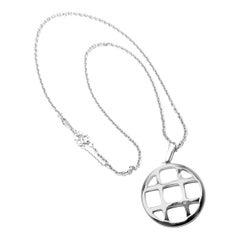 Cartier Pasha De Cartier White Gold Pendant Chain Necklace