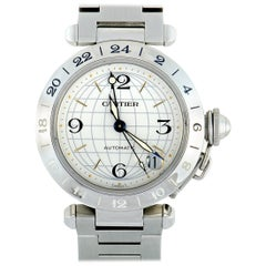 Cartier Pasha GMT Watch W31078M7
