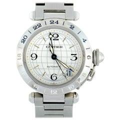 Cartier Pasha GMT Watch W31078M7