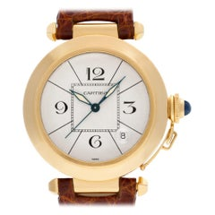 Cartier Pasha MISSING, White Dial, Certified and Warranty