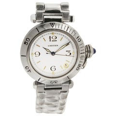 Cartier Pasha Stainless Steel Watch R 40108797