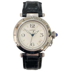Cartier Pasha Stainless Steel Automatic Watch on Strap