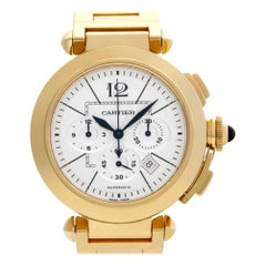 Cartier Pasha W30201H9, Silver Dial, Certified and Warranty