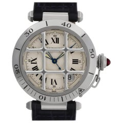 Cartier Pasha W3102255, Silver Dial, Certified and Warranty