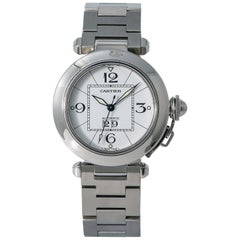 Cartier Pasha W31055M7, Beige Dial, Certified and Warranty
