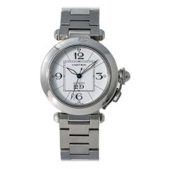Cartier Pasha W31055M7, Black Dial, Certified and Warranty