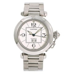 Cartier Pasha W31055M7, Silver Dial, Certified and Warranty