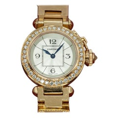 Cartier Pasha Watch in Rose Gold