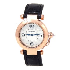 Cartier Pasha WJ11913G, Certified and Warranty