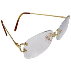 Cartier Piccadilly Gold Glasses