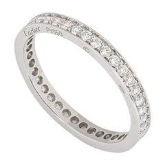 Cartier Platinum Ballerine Diamond Wedding Ring