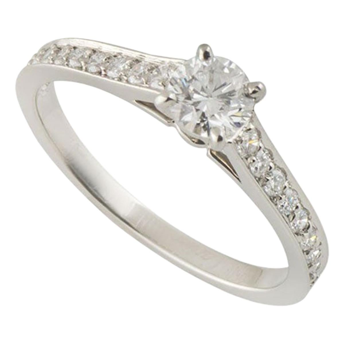 CartierPlatinum Diamond 1895 Solitaire Engagement Ring