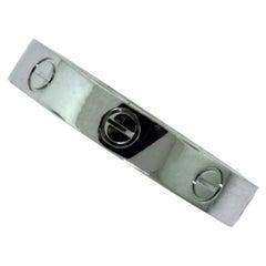 Cartier Platinum Love Wedding Ring