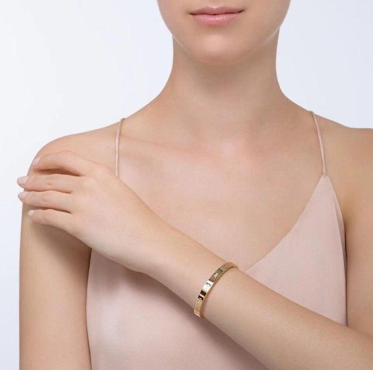Cartier Pre-Owned Love 1 Diamond 18K Yellow Gold Bracelet 1