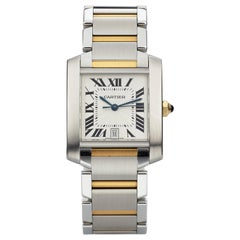 Cartier Ref. 2302 Tank Francaise Steel and Gold
