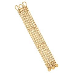 Cartier Retro Gold Draperie Bracelet