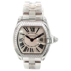 Cartier Roadster 18 Karat White Gold Watch