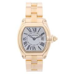 Cartier Yellow Gold Roadster Quartz Wristwatch Ref W62018V1