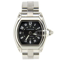 Cartier Roadster 2510, Silver Dial, Certified and Warranty