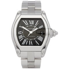Cartier Roadster 2510 Men Stainless Steel Watch
