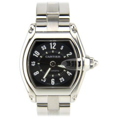 Cartier Roadster 2510, Millimeters Black Dial, Certified and Warranty