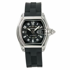 Cartier Roadster 2510 W62004V3 Men's Automatic Watch Black Dial SS