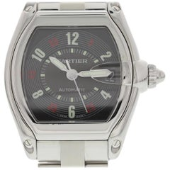 Cartier Roadster 2510, White Dial, Certified and Warranty