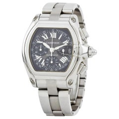 Cartier Roadster 2618, Case, Certified and Warranty