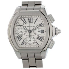 Cartier Roadster 2618, Silver Dial, Certified and Warranty
