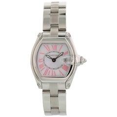 Cartier Roadster 2675 Mother of Pearl Ladies Watch