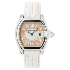 Cartier Roadster 2675, Salmon Dial, Certified and Warranty