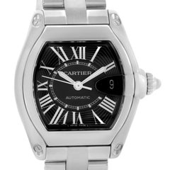 Cartier Roadster Black Dial Men's Large Automatic Watch W62041V3