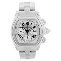Cartier Roadster Chronograph Stainless Steel Men's Watch