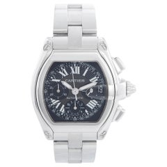 Cartier Roadster Chronograph Stainless Steel Men's Watch W62019X6