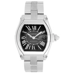 Cartier Stainless Steel Roadster Automatic Wristwatch Ref W62041V3