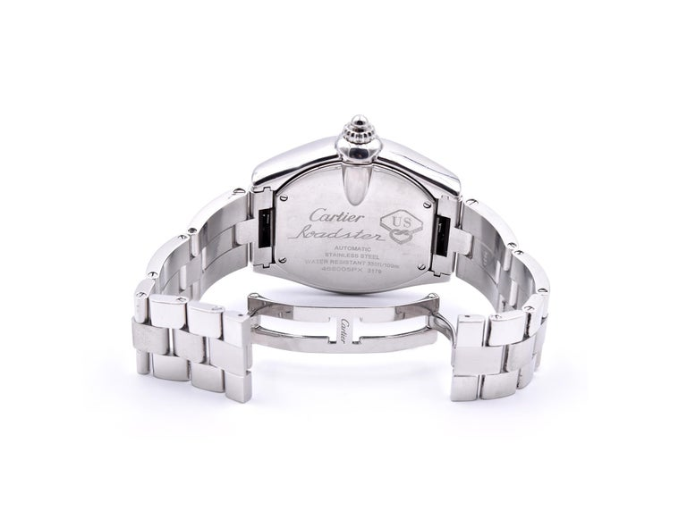 Women's or Men's Cartier Roadster Men's XL 100th Anniversary Watch Ref. 3179