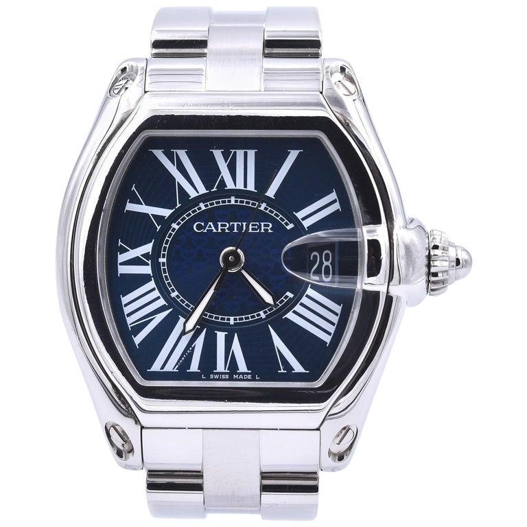 Cartier Roadster Men's XL 100th Anniversary Watch Ref. 3179