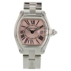 Cartier Roadster Pink Dial 2675 Ladies Watch