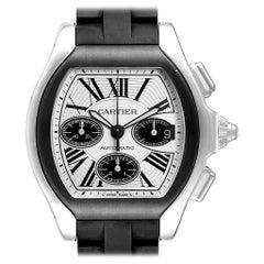 Cartier Roadster Rubber Strap Chronograph Men's Watch W6206020