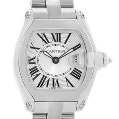 Cartier Roadster Small Silver Dial Steel Women's Watch W62016V3