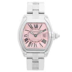 Cartier Roadster Stainless Steel Ladies Watch W62016V3