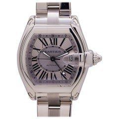 Cartier Roadster Stainless Steel XL GMT Ref 2722, circa 2000s