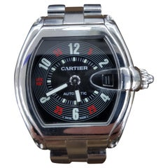 Cartier Roadster Vegas Style, Stainless Steel, Registered 2006